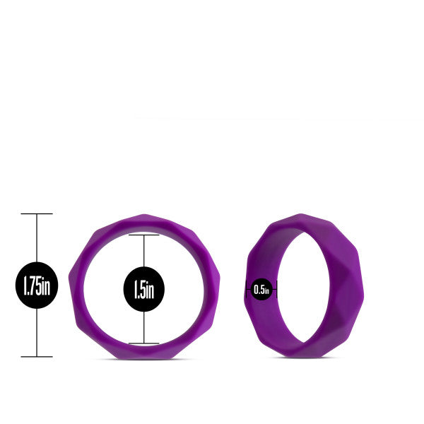 Wellness Geo Purple C Ring
