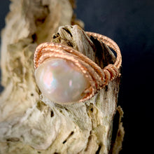 The Lady - Textured Wire Wrapped Rings