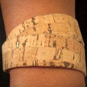 Portugal. The Woman - Wide Cork Bracelet