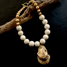 Beach Side - Wood & Sea Necklace