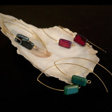 The Enchanters - Glass Gem Earrings