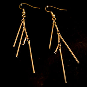 Gold Rush - Dripping in Gold Earrings