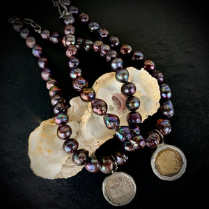 The Billie - Black Pearl Necklace
