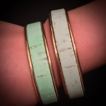 Portugal. The Girl - Pastel Cork Cuffs