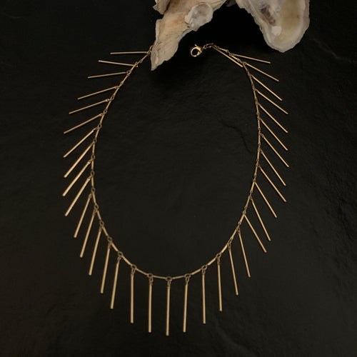 Gold Rush - Dripping in Gold Necklace