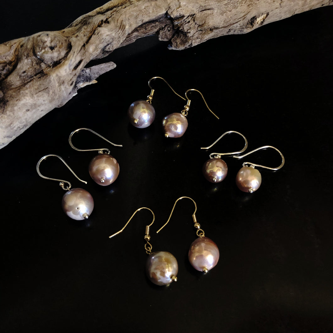 The Betty - Baroque Pearl Earrings