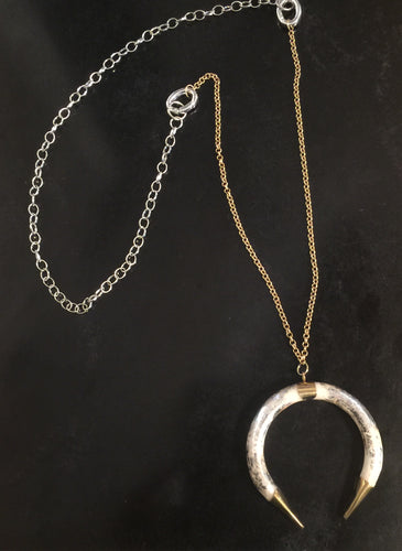 The Shakira - Convertible Horn Necklace
