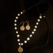 The Faith Freshwater Pearls and Leather
