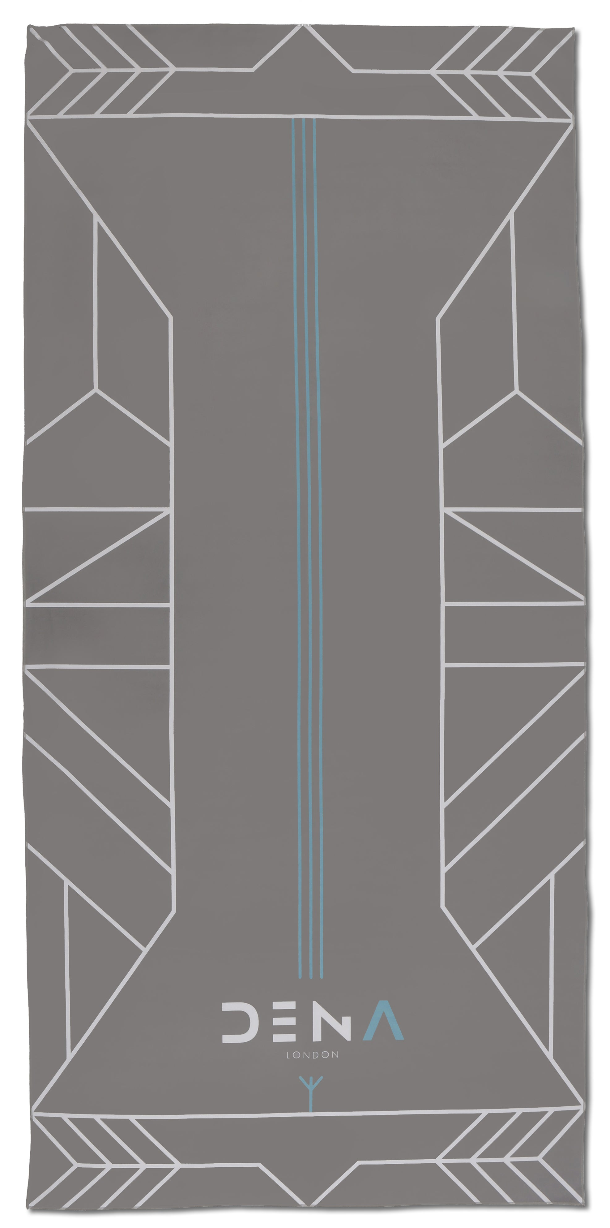 Metropolis Grey Towel -  DENA LONDON