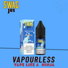 SWAGJUS Vapourless Blueberry Ice
