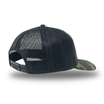 """COMMITTED"" PATCH HAT - CAMO/BLACK"