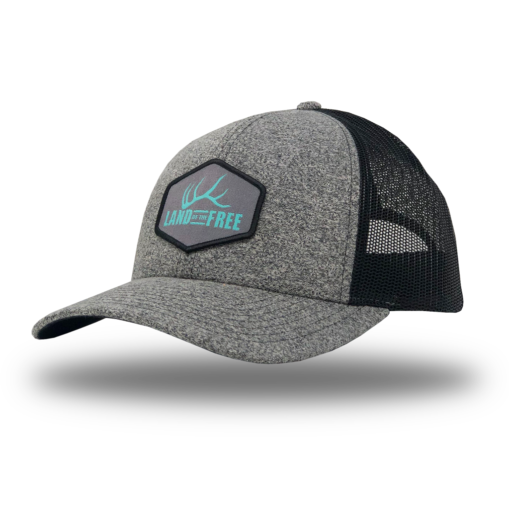 "WOMEN'S ""LAND OF THE FREE"" - MESH SNAPBACK"