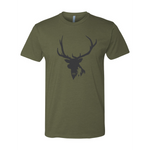 ELK HUNTER - MILITARY GREEN - T-SHIRT