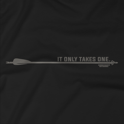 """IT ONLY TAKES ONE"" ARROW T-SHIRT"