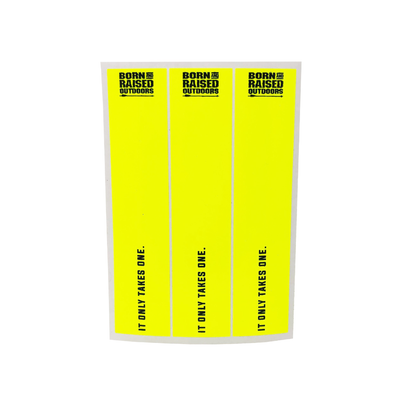 "Arrow Wraps - ""It Only Takes One"" - Fluorescent"