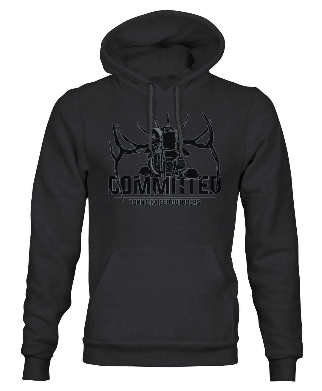 """COMMITTED"" HOODY"
