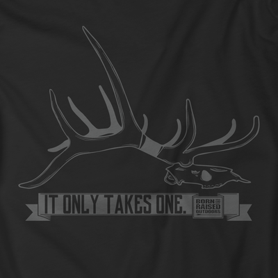 """IT ONLY TAKES ONE"" T-SHIRT"
