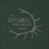 """LEAVE A MESSAGE"" T-SHIRT"