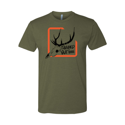 """TAGGED OUT"" T-SHIRT"