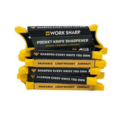 WORK SHARP POCKET KNIFE SHARPENER - BORN & RAISED SIGNATURE SERIES