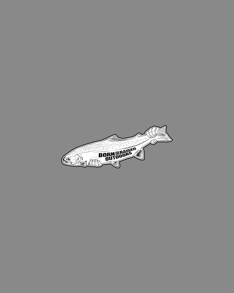 STEELHEAD- STICKER
