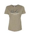 "WOMEN'S ""ANTLER"" RELAXED TEE"