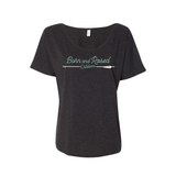 "WOMEN'S ""ARROW"" SLOUCHY TEE"