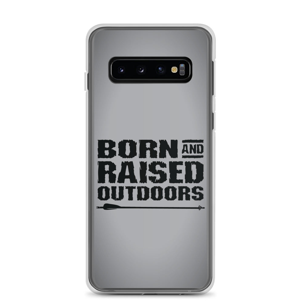 Samsung Case - Stacked - Grey