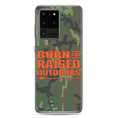 Samsung Case - Stacked - Camo
