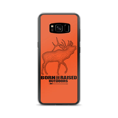 Samsung Case - Elk Topo - Orange