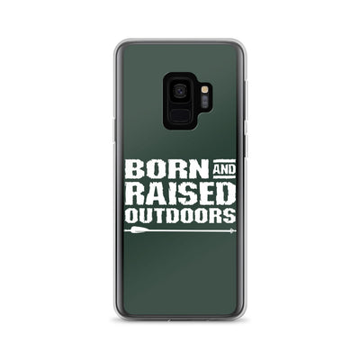 Samsung Case - Stacked - Military Green