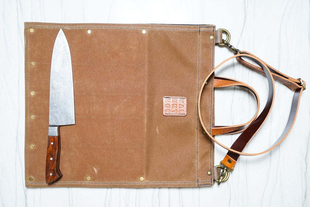Knife-Folio - Field Tan - Valentich Goods