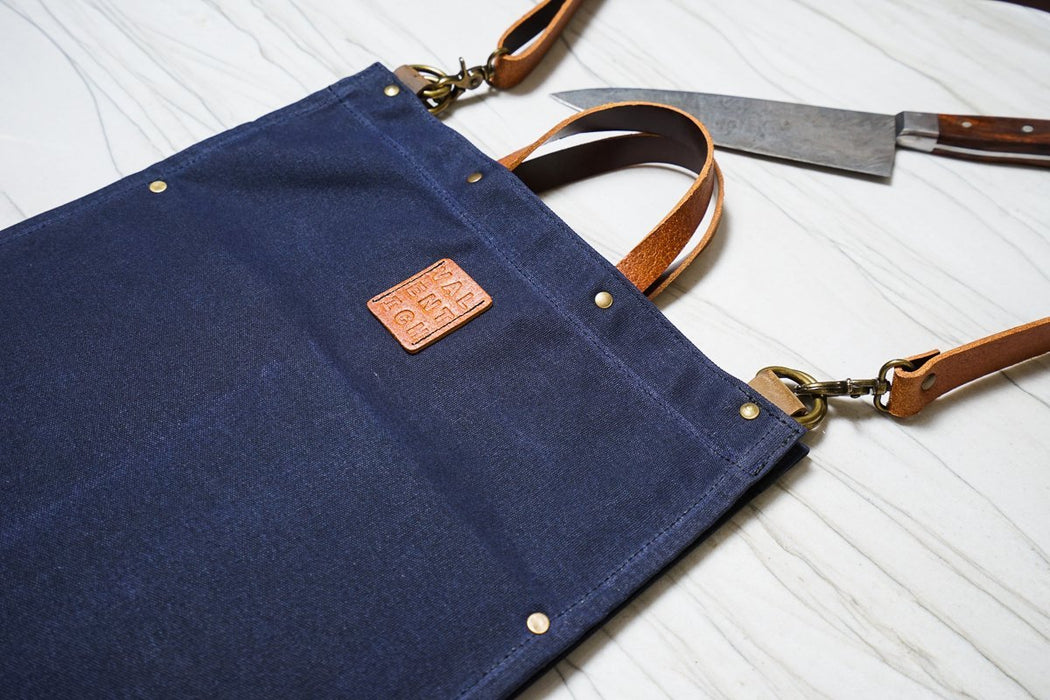 Knife-Folio - Navy - Valentich Goods