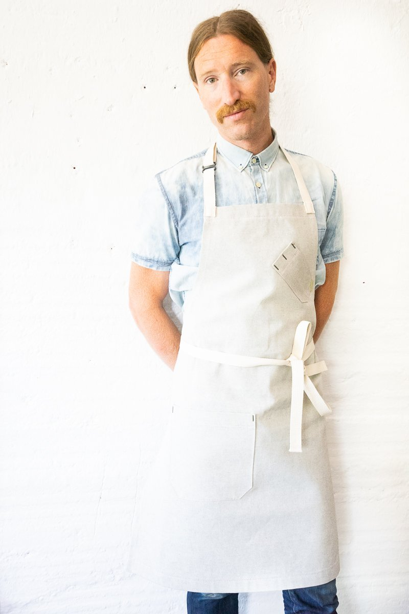 Salt + Pepper Bib Apron - Valentich Goods
