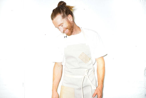 Salt + Pepper YELLOW Chef Apron - Valentich Goods
