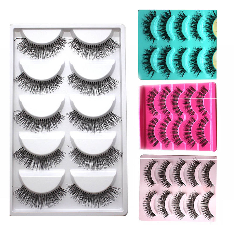 20 Pairs False Eyelashes Lashes - LM cosmetics