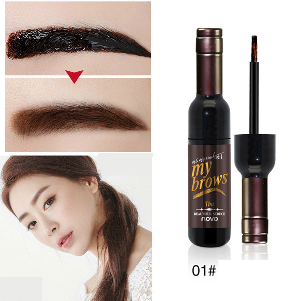 1Pc Peel-off Eye Brow Tattoo Tint Dye Gel Eyebrow Cream Waterproof Long Lasting - LM cosmetics