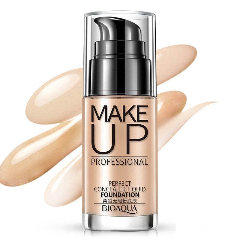 Makeup Liquid Foundation Moisturizing Waterproof - LM cosmetics