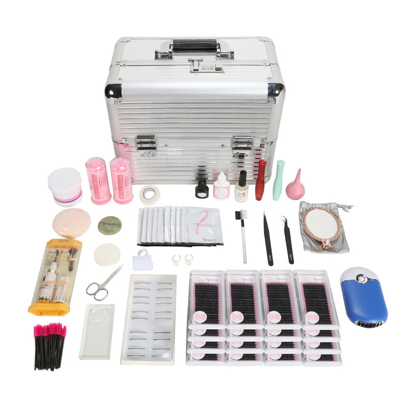 Eyelash Extension Kit Makeup Set Individual Lashes - LM cosmetics