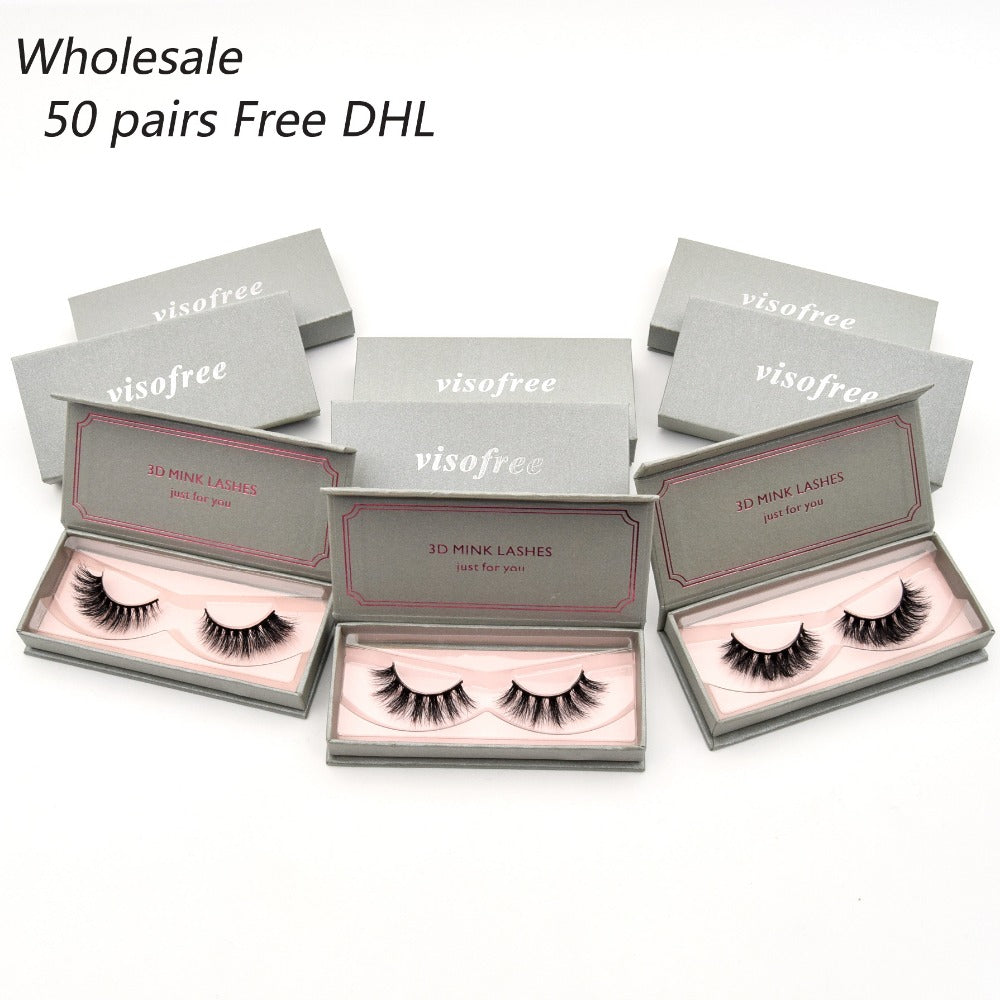 3D Mink Lashes Handmade Lashes Thick Long False Eyelashes Makeup 40 styles lashes - LM cosmetics