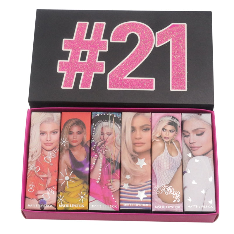 21st Birthday Jenner Makeup Set Matte shadow Pallet Set - LM cosmetics