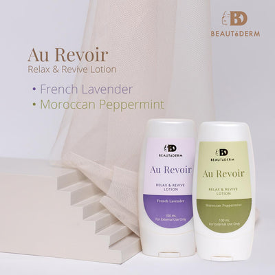 Au Revoir Relax and Revive Lotion 100ml