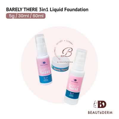Barely There 3-in-1 Liquid Foundation