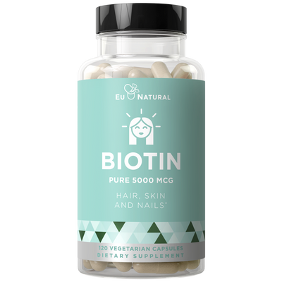Eu Natural BIOTIN 5000 MCG Hair, Skin, Nails