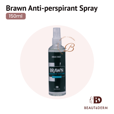 Brawn Antiperspirant White Spray