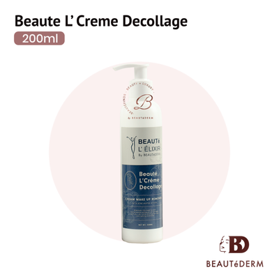 Beaute L' Creme Decollage Makeup Remover with Acne Buster Actives