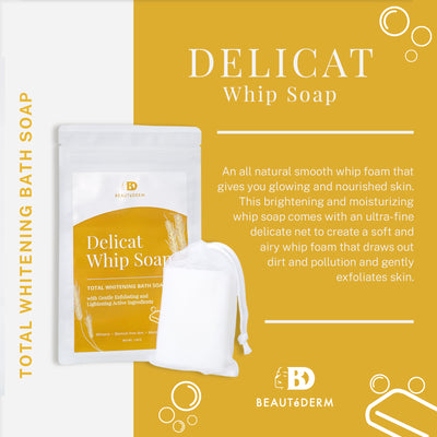 Delicat Whip Soap 120g