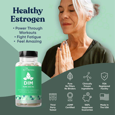 Eu Natural DIM PURE 200 MG Estrogen Balance