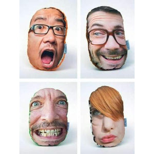 Custom Photo Face Cushions | The Parody Shop