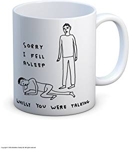 David Shrigley Fell Asleep Mug